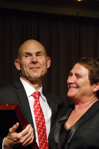 Andrew and Lisa Hall of Fame 2017.jpg